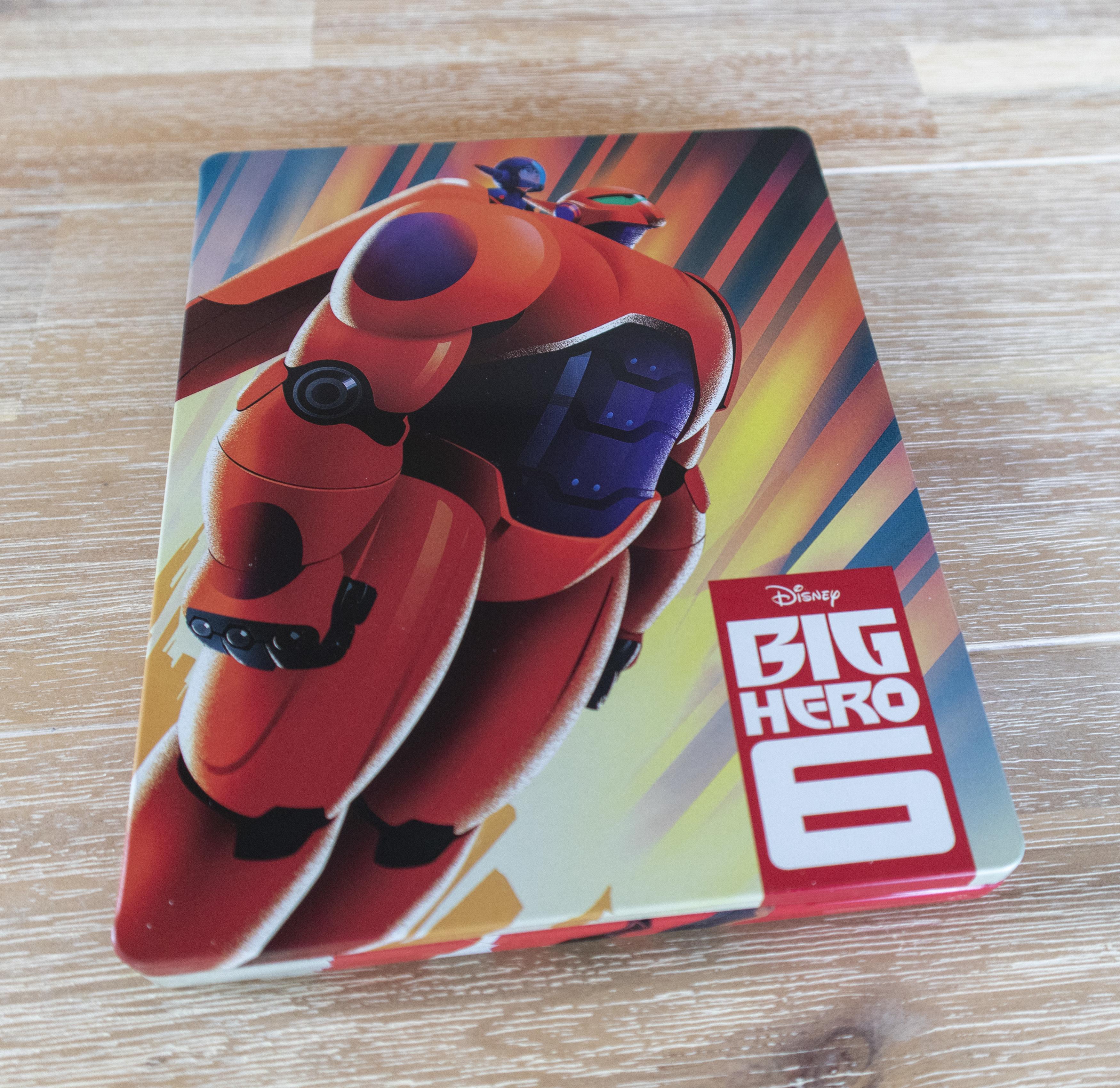 Big Hero 6 4K Ultra hd best buy steelbook ベイマックス スチールブック