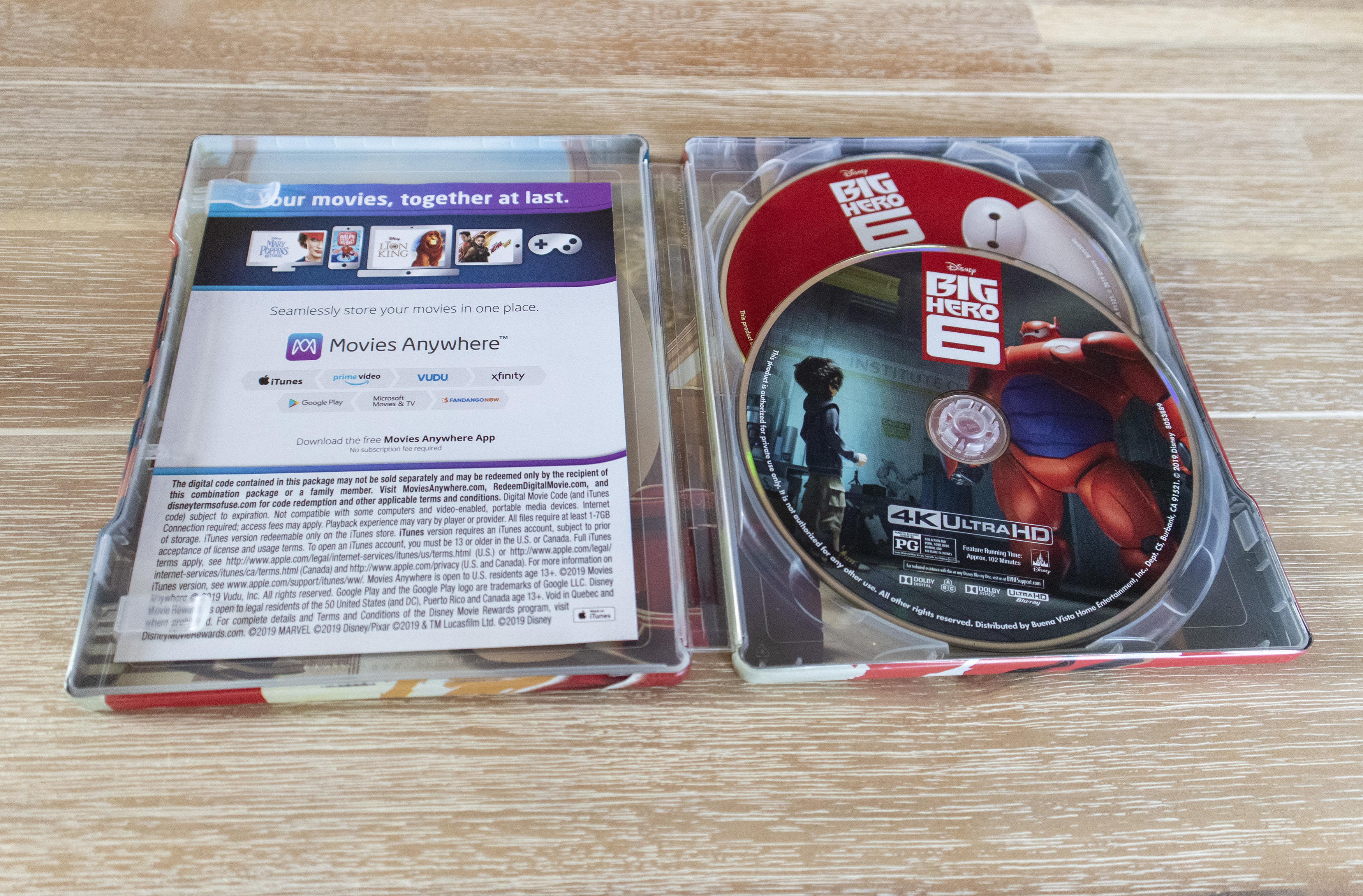 Big Hero 6 4K Ultra hd best buy steelbook ベイマックス スチールブック