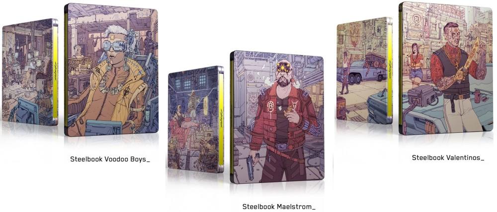 サイバーパンク 2077 スチールブック cyberpunk2077 steelbook