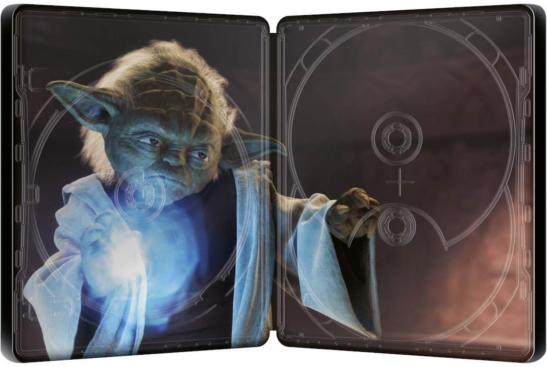 スター・ウォーズ エピソード2/クローンの攻撃 スチールブック Star Wars: Episode II Attack of the Clones Zavvi steelbook