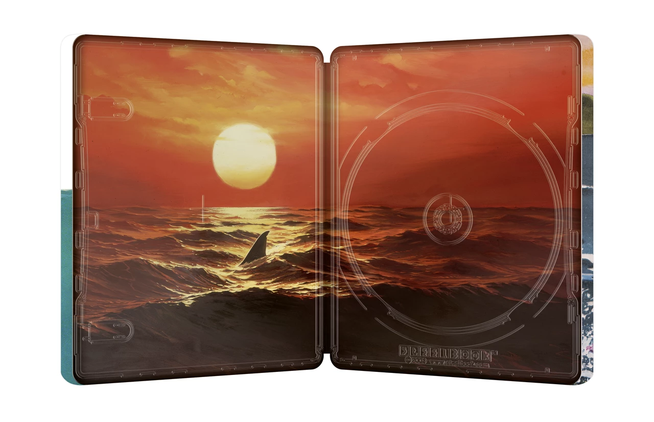 ジョーズ 4K Ultra HD+ブルーレイ スチールブック仕様