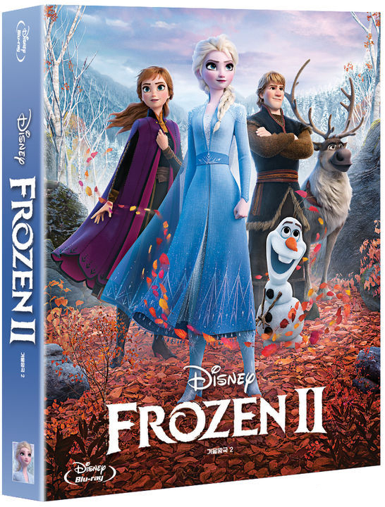 アナと雪の女王2 韓国 スチールブック Frozen2 korea steelbook