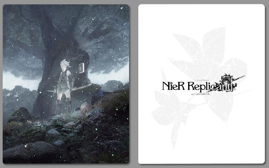 ニーア レプリカント ver.1.22474487139... スチールブック NieR Replicant  Japan steelbook