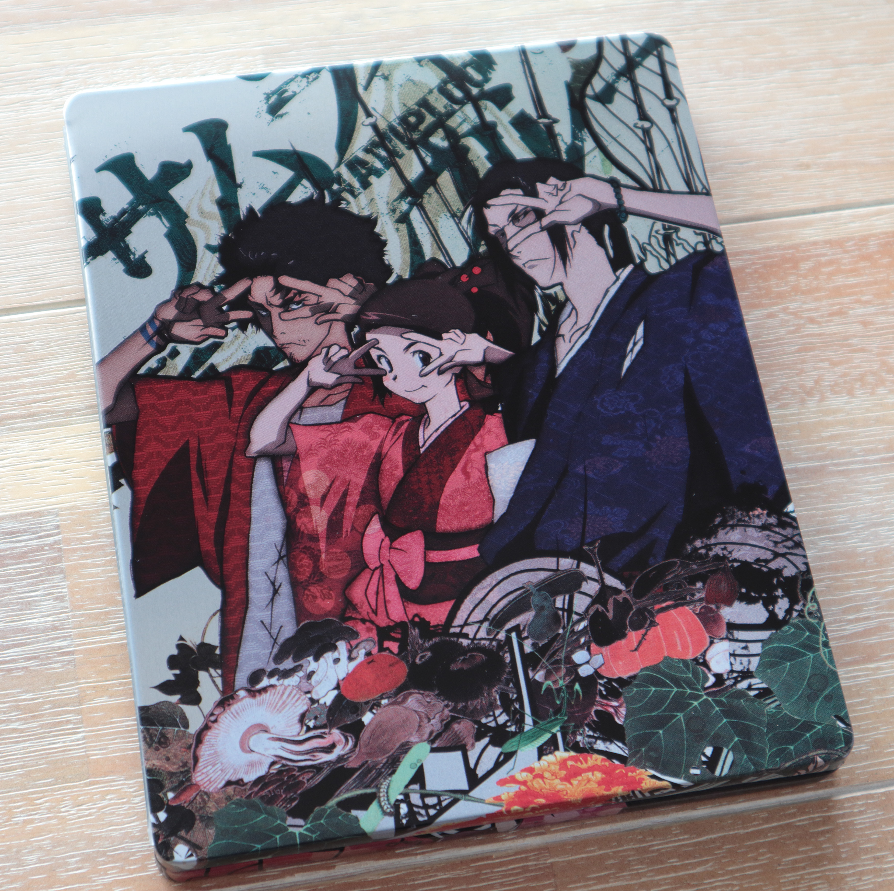 SAMURAI CHAMPLOO steelbook サムライチャンプルー UK イギリス スチールブック