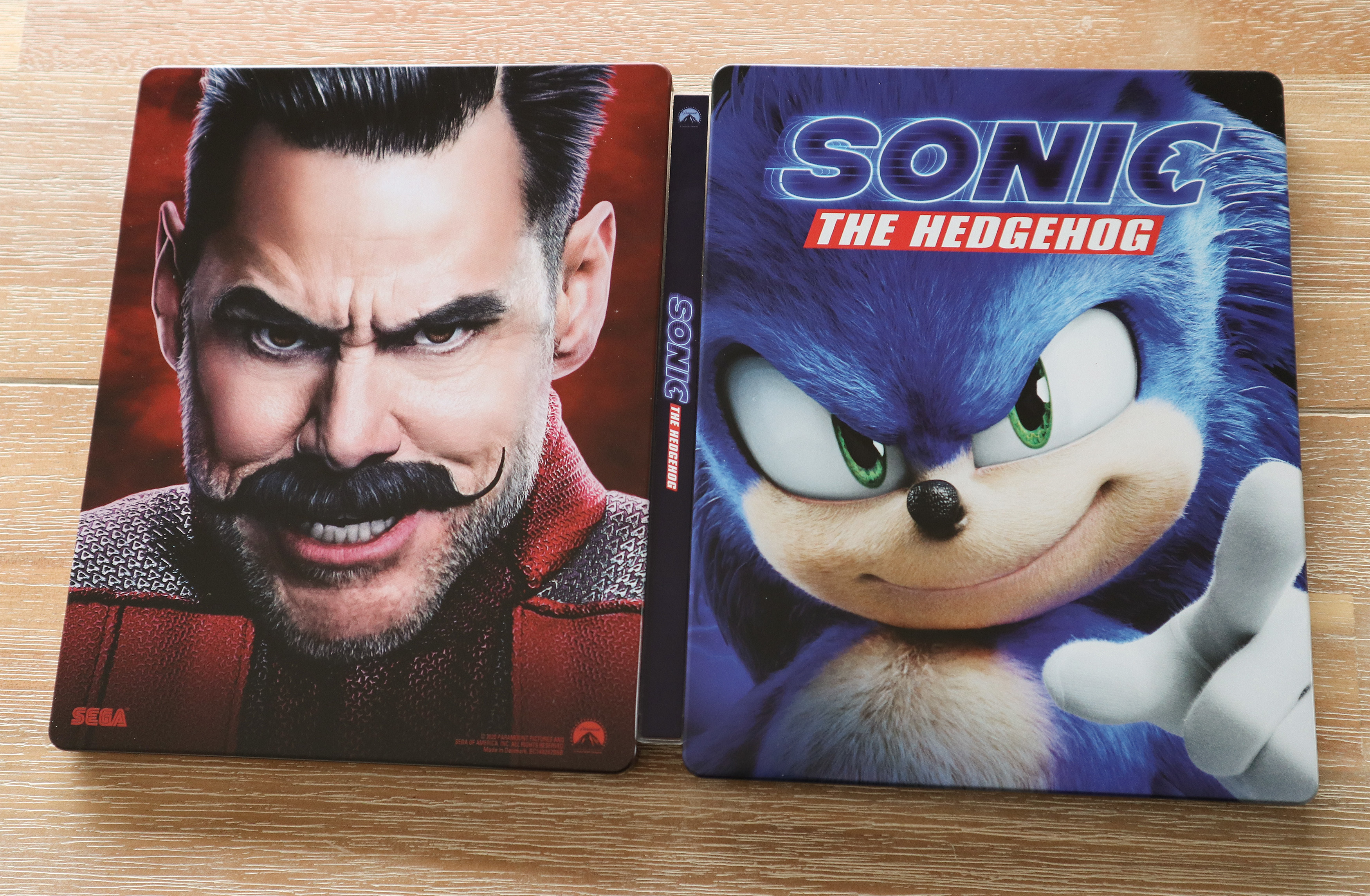 Sonic the Hedgehog 4K Ultra Hong Kong steelbook ソニック・ザ・ムービー スチールブック