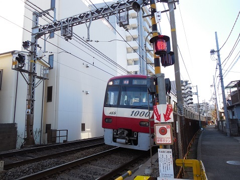 京急本線の生麦第五踏切@横浜市神奈川区g