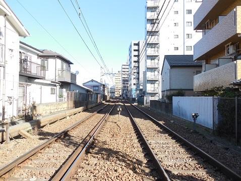京急本線の生麦第三踏切道@横浜市神奈川区d