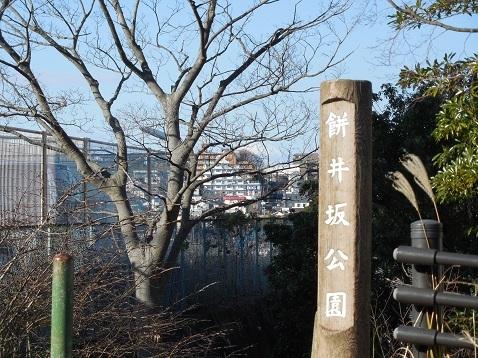 餅井坂公園から見た富士山@横浜市港南区a