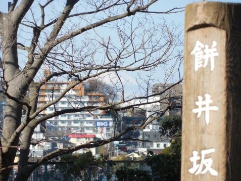 餅井坂公園から見た富士山@横浜市港南区b