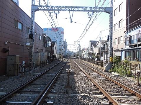 京急本線の生麦第一踏切道@横浜市鶴見区d