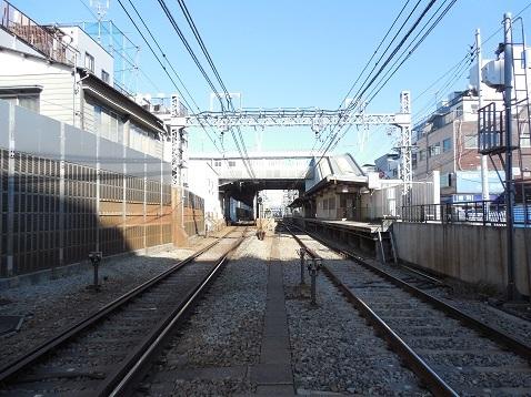 京急本線の生麦第一踏切道@横浜市鶴見区c