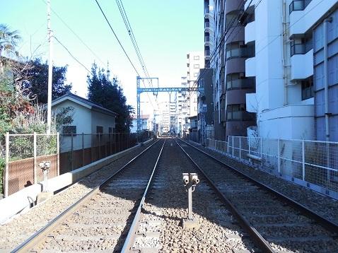 京急本線の生麦第四踏切道@横浜市鶴見区d