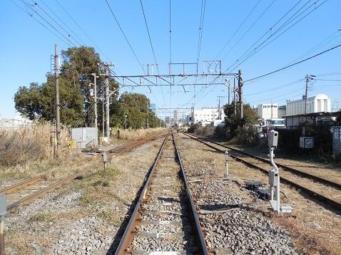 高島線の千鳥橋踏切@横浜市神奈川区g