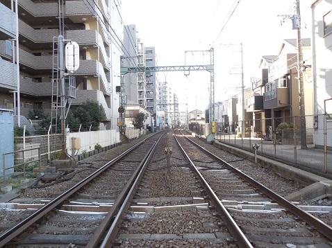 京急本線の生麦第2踏切道@横浜市鶴見区・神奈川区e