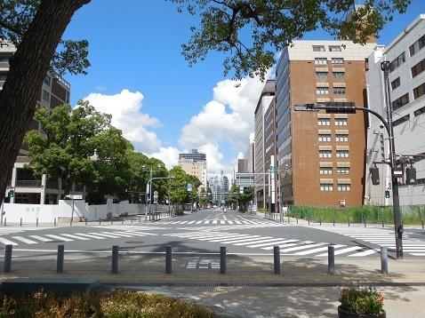 ハマスタ入り口交差点@横浜市中区