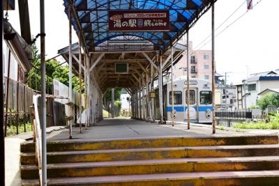 中央弘前駅ホーム