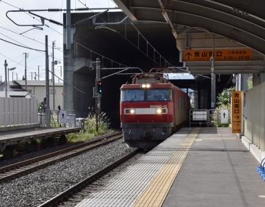 青山駅下りホーム