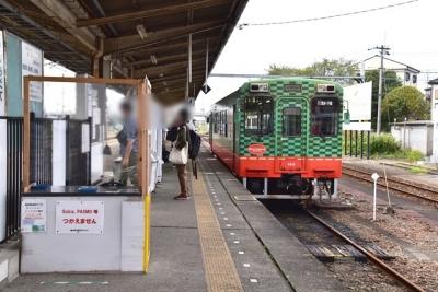 真岡鐡道下館駅