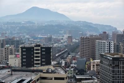 屋上露天風呂からの眺め JR九州ホテルブラッサム