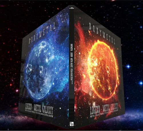 BABYMETAL「LEGEND - METAL GALAXY」Blu-ray初回限定盤ジャケット