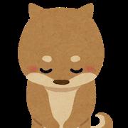 お辞儀 _犬