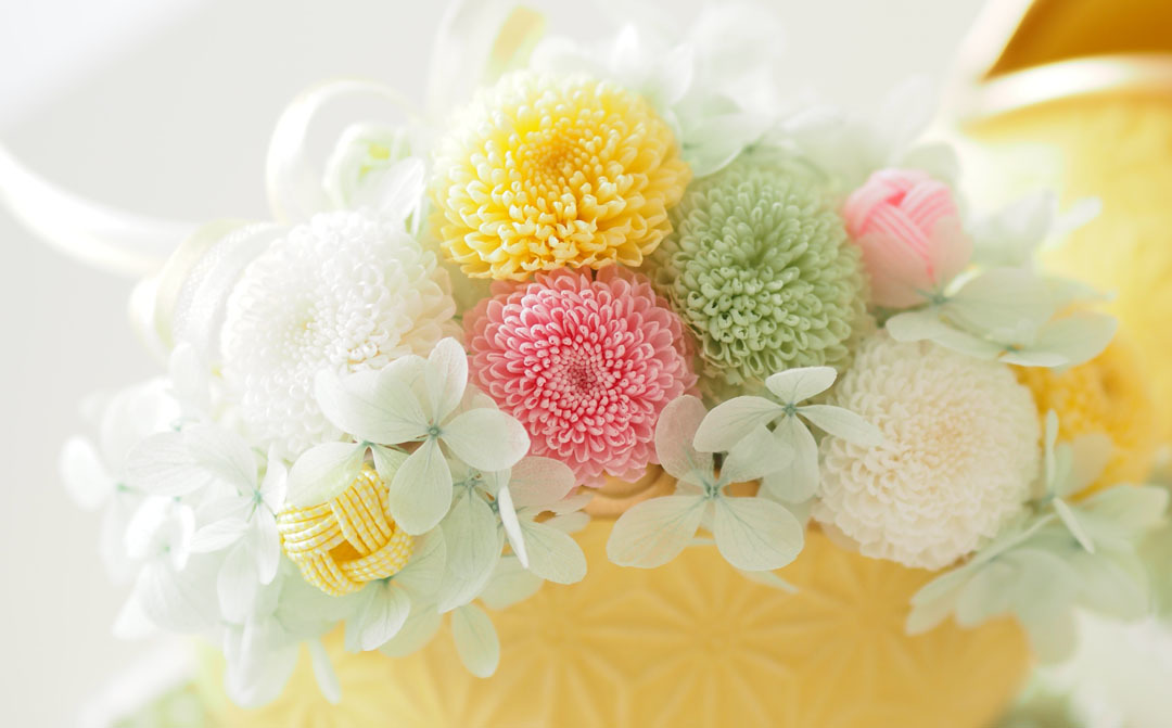 春色の花たちに