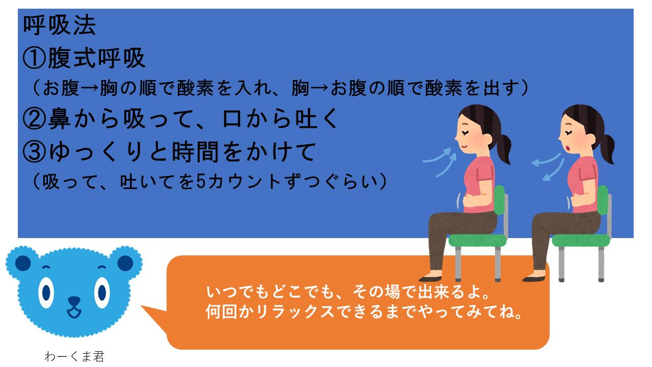 呼吸法&ストレッチ①