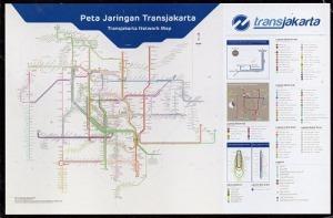 路線図  インドネシア