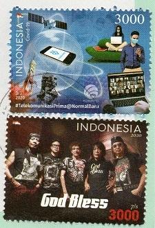 切手6  インドネシア
