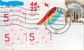 切手27  オランダ