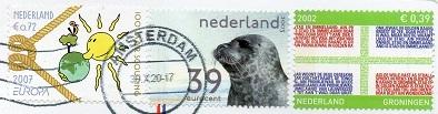 切手29  オランダ