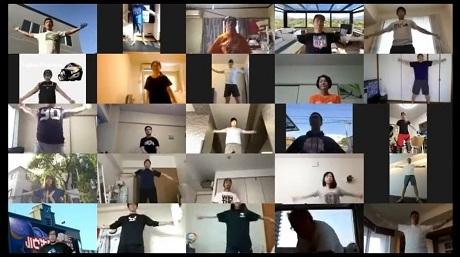 20200531『ZOOMでラジオ体操カンタン朝体操』の画像