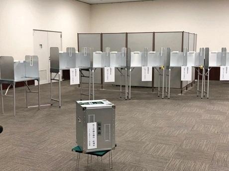 20200904投票所の風景