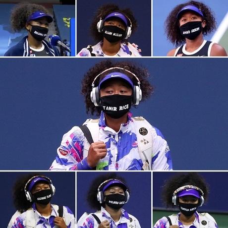 20200913大坂なおみの7枚のマスクの画像
