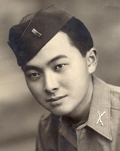 20201206米軍時代のダニエル・K・イノウエ氏の画像