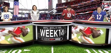 20201219相武紗季さん今季初出演のオードリーのNFL俱楽部