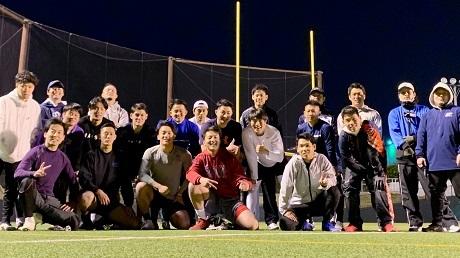 20210223「SUNS NFL PROJECT」トライアウト@富士通スタジアム川崎後の写真