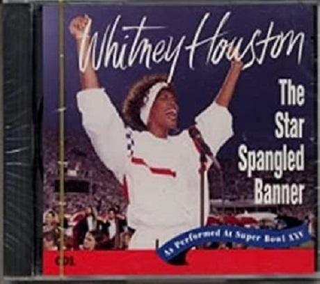 20210223その2CDのジャケット_第25回スーパーボウルのホイットニー・ヒューストン