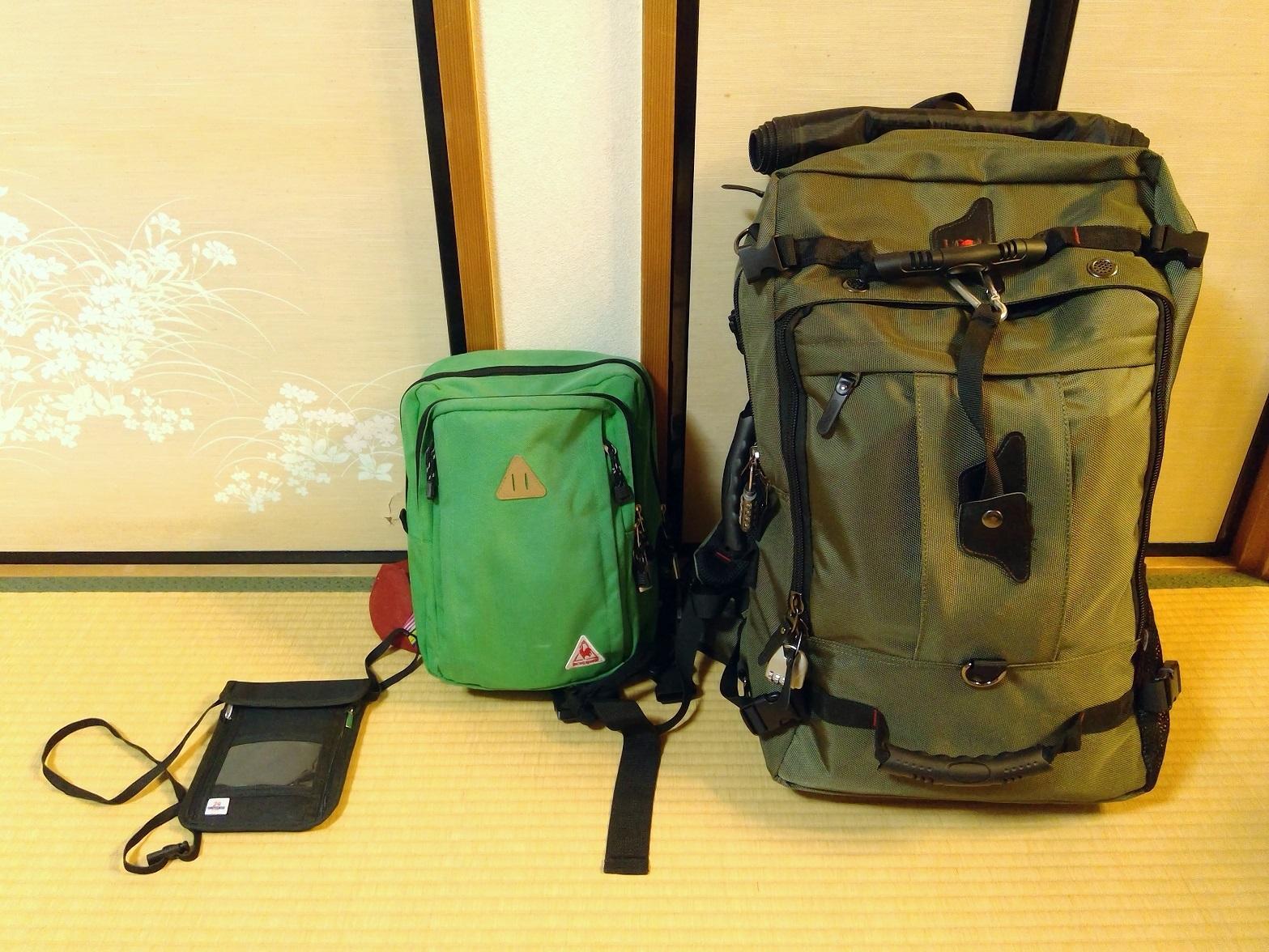 メインバッグにおすすめのバックパック4【チェンマイ移住・海外ノマドの準備】