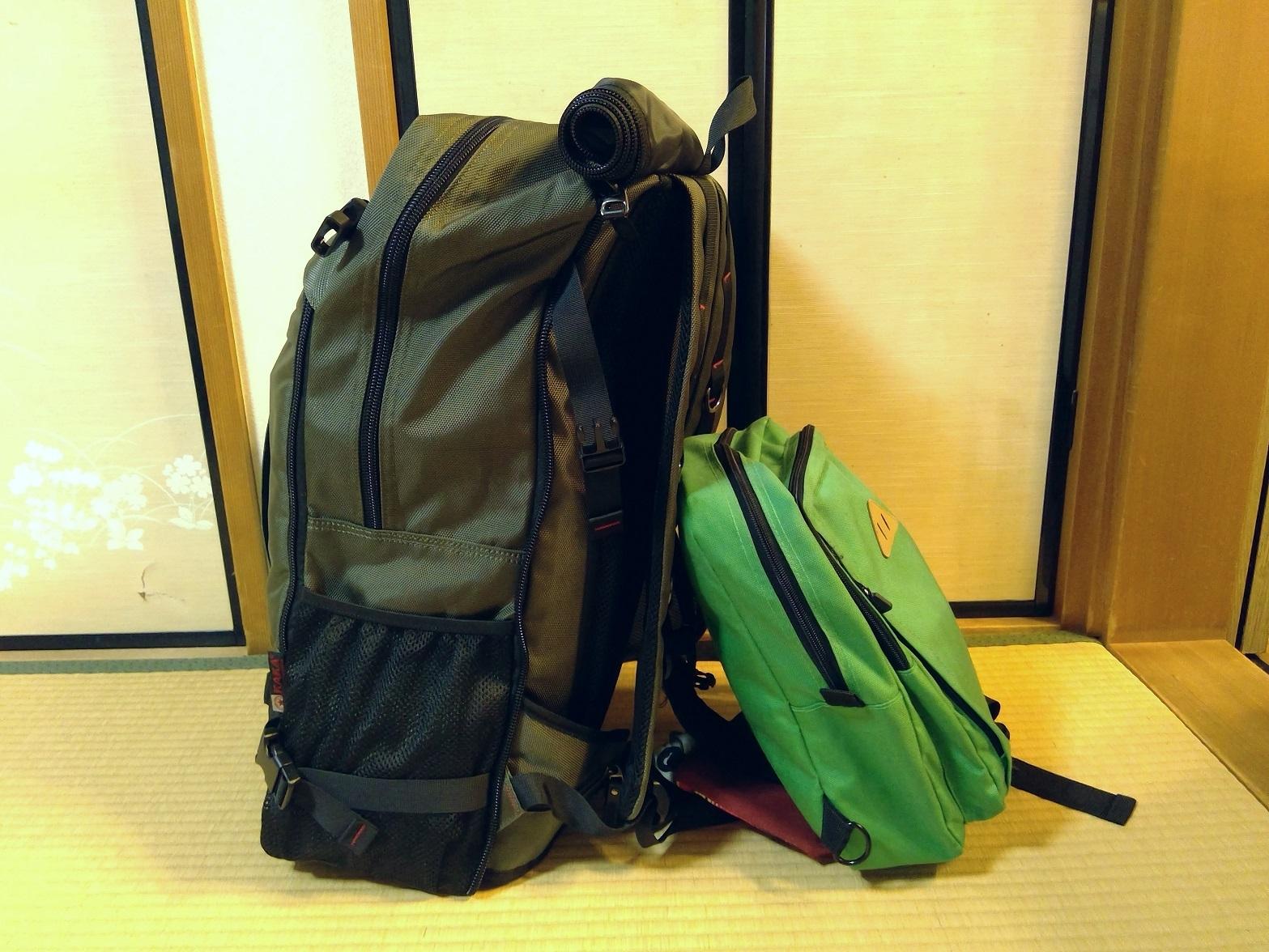 メインバッグにおすすめのバックパック5【チェンマイ移住・海外ノマドの準備】