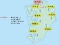 ky.南北朝後の九州勢力図