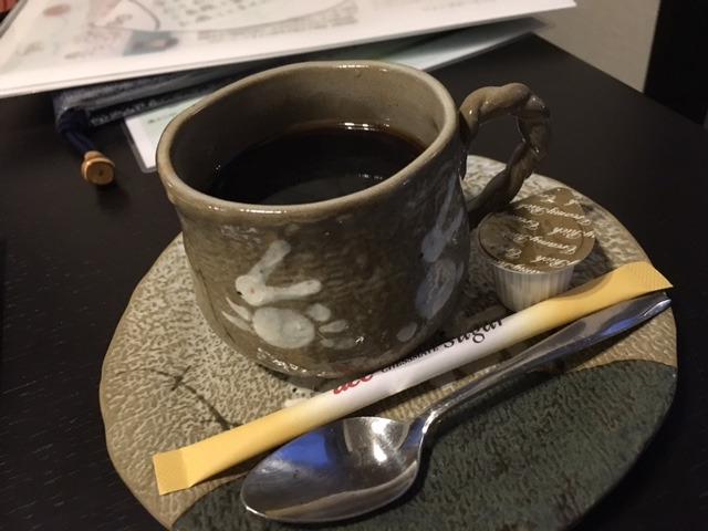コーヒー白桃花