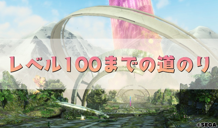 レベル100までの道のり解説