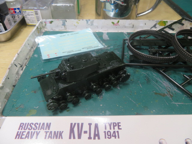 1/76 KV-1A の1