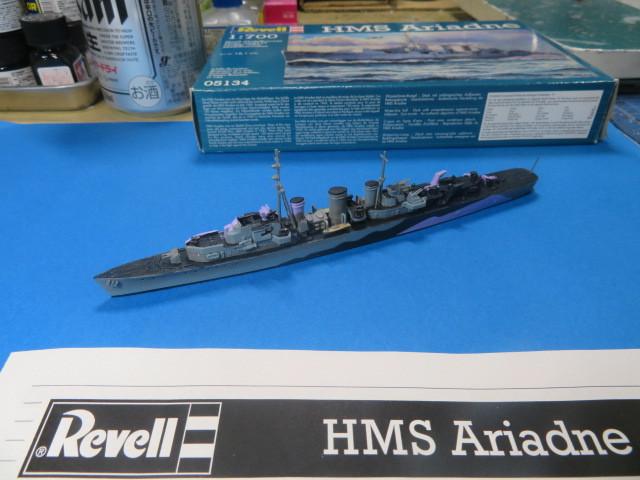 1/700 HMS アリアドネ の4