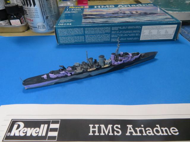 1/700 HMS アリアドネ の5