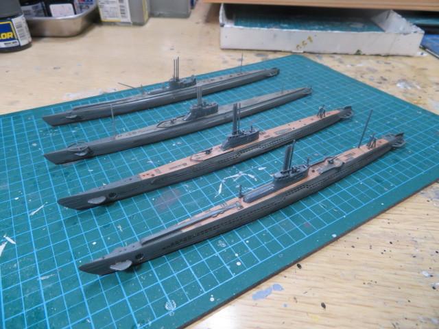 WLシリーズ 1/700 日本潜水艦 の3