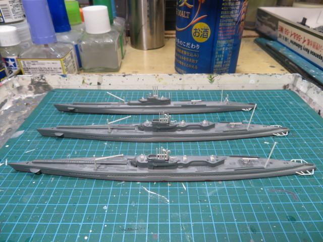 ピットロード 1/700 伊ー400型 & 甲型 の1