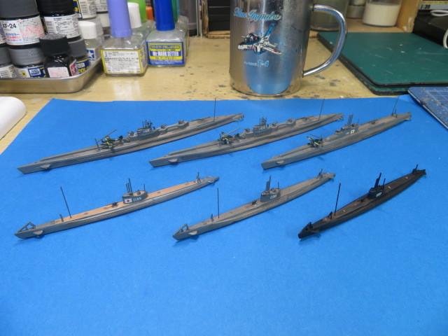 ピットロード 1/700 伊ー400型 & 甲型 の2
