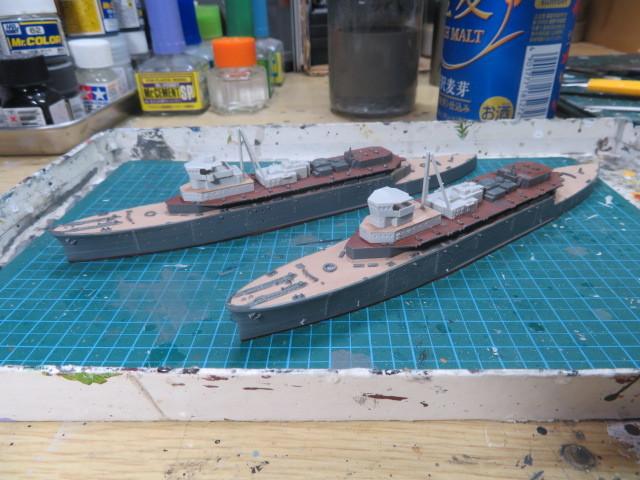 ピットロード 1/700 迅鯨型 の2